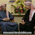 صورة اثناء لقاء في تلفزيون الكويت مع بركات الوقيان