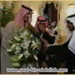أثناء استقبالي في دولة الكويت 1999