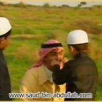 صورة مع أبنائي عبد الله وسلطان