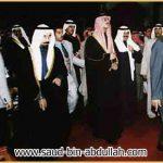 صورة في امسية الكويت مع الشيخ علي جابر الاحمد الصباح